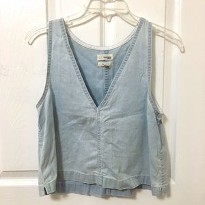 ⭐️2/$20 Wilfred Free Denim Tank